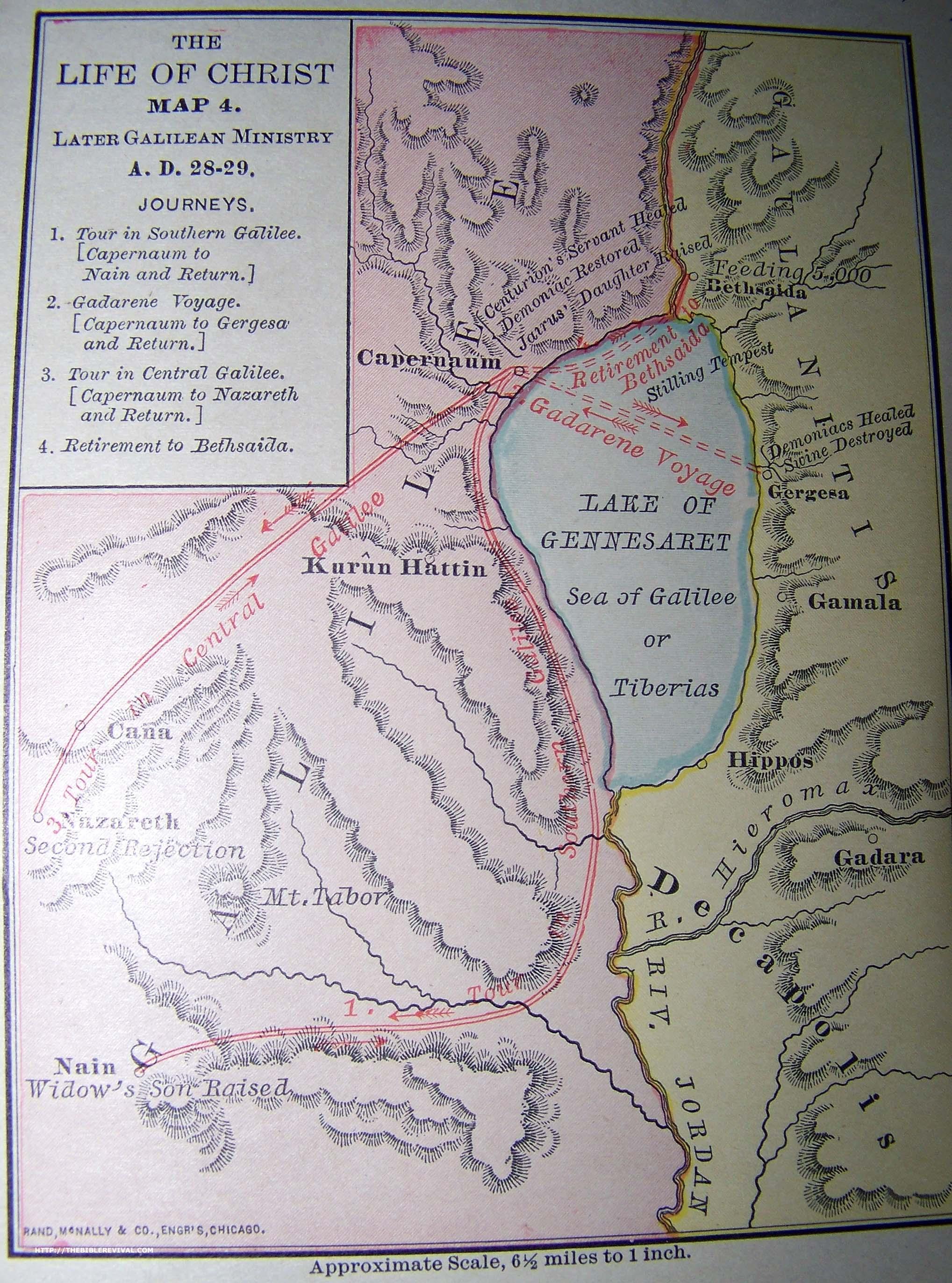 Maps, Charts, Customs - THE BIBLE WAY